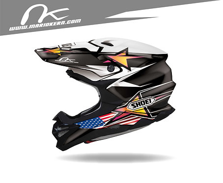 SHOEI VFX-WR ab 2018- / POWER USA black