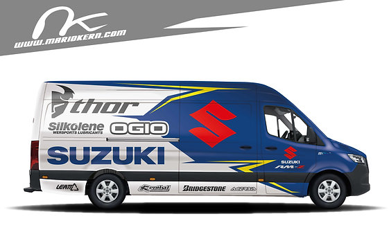 Carwrap SUZUKI orig. - MB Sprinter / VW Crafter / IVECO Daily