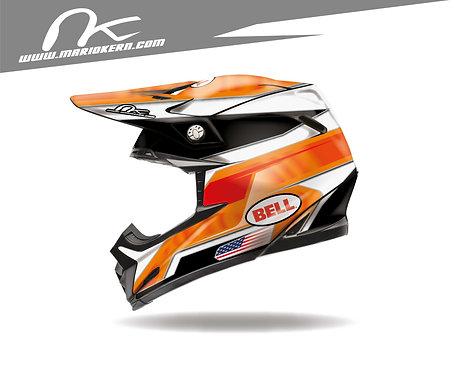 BELL Moto-9 Flex ab 2018- / United Orange Edition