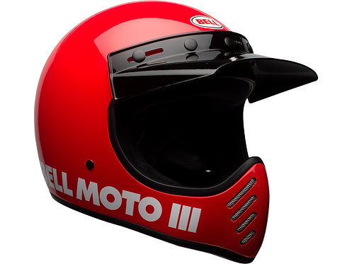 BELL MOTO-3  / Classic Red