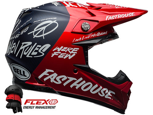 BELL MOTO-9 CARBON FLEX FASTHOUSE / Day in the Dirt