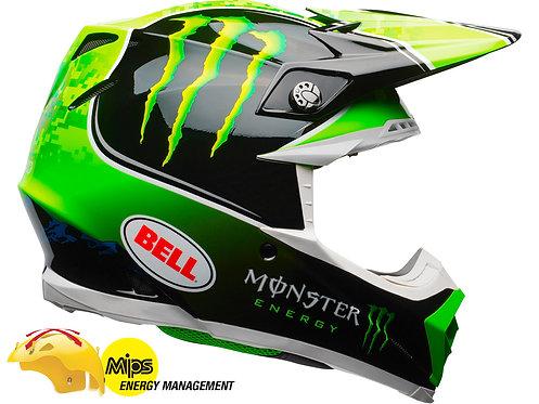 BELL MOTO-9 MIPS TOMAC REPLICA / Green/Black