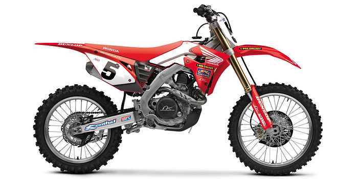 HONDA CRF 450 2019 MKD 001 McGrath Editi