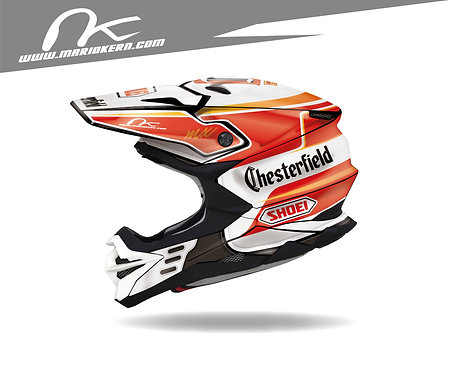 SHOEI VFX-WR ab 2018- / Alex Puzar Chesterfield Jet-Fake Replica Edition