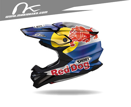 SHOEI VFX-WR ab 2018- / POWER RedDog
