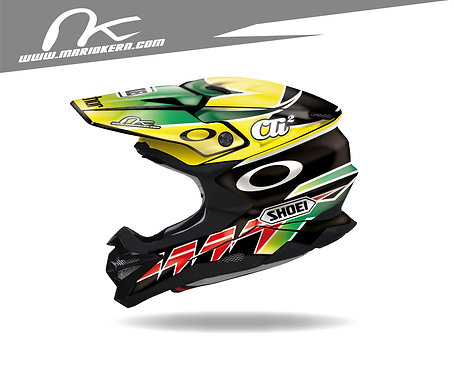 SHOEI VFX-WR ab 2018- / Damon Huffmann Replica Edition
