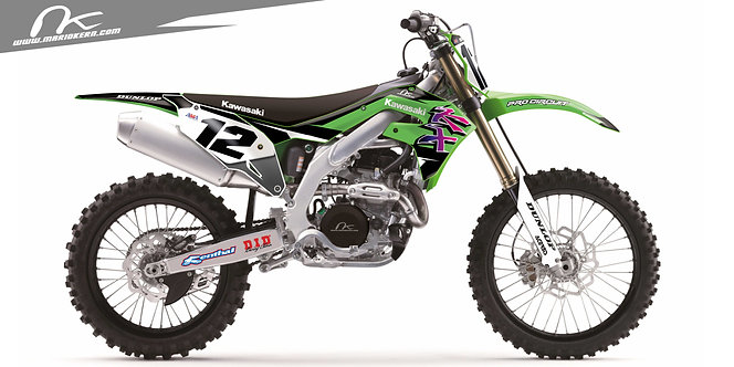 Kawasaki KXF 450 ab 2019- / Nineties Replica Edition