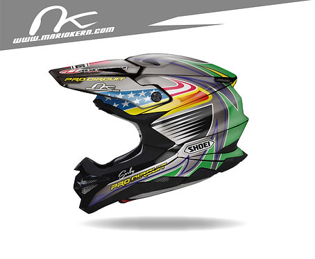 SHOEI VFX-WR ab 2018- / Eric Sorby Replica Edition