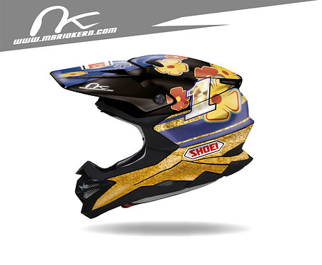 SHOEI VFX-WR ab 2018- / Jeremy McGrath 1997 Replica Edition
