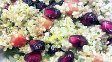 Quinoa Pomegranate Salad with Hemp Seed