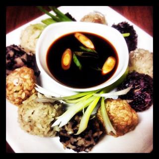 Thai Chicken Pearl Balls