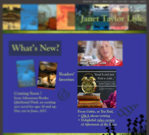 JanetTaylorLise.com > What's New > Tea End Blog Featured!