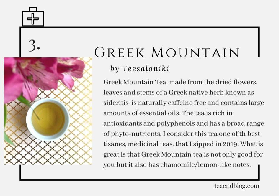 Top Ten Teas of 2019: Greek Mountain by Teesaloniki