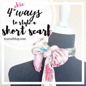 4 Ways To Style A Short Scarf