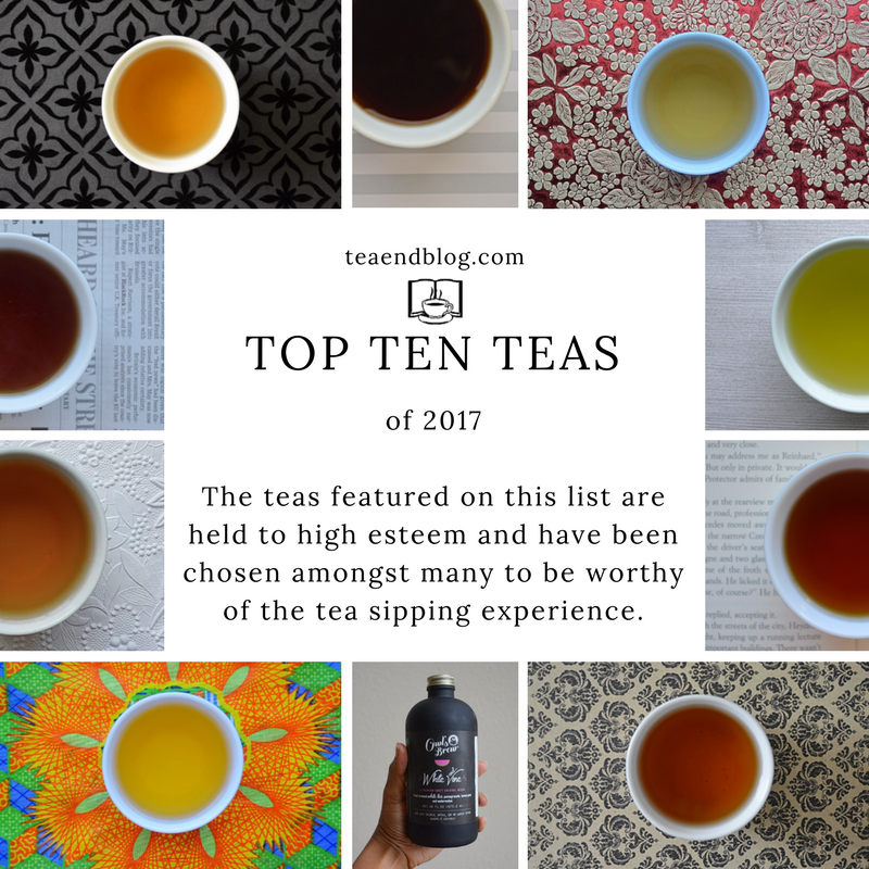 Top Ten Teas of 2017