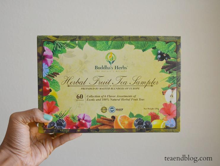 Herbal Fruit Tea Sampler by Buddha's Herbs
