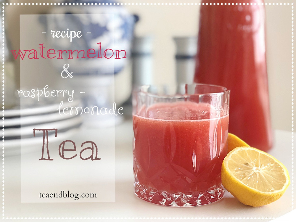 Recipe: Watermelon & Raspberry-Lemonade Tea