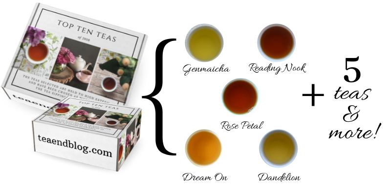 Tea Box 2018 includes 10 teas and more!