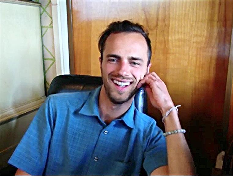 Nicholas Lozito, founder of Misty Peak Teas