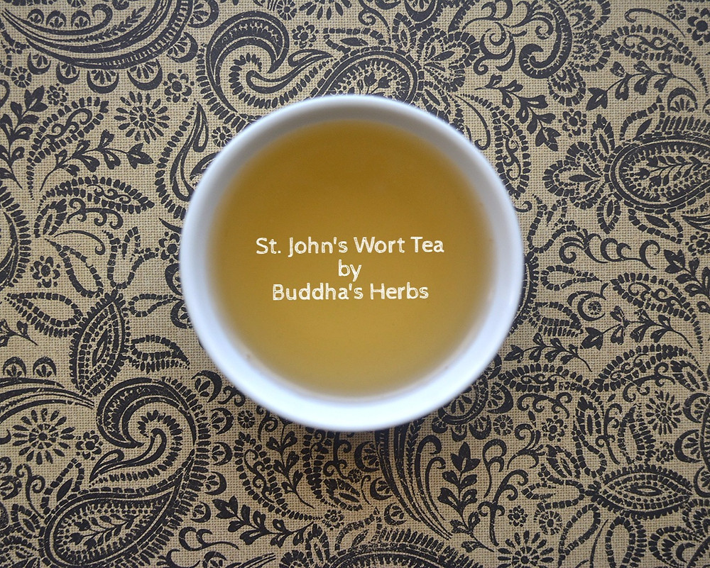 St. John's Wort Tea by Buddha's Herbs Tea Review