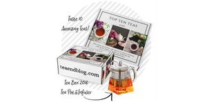 Tea Box 2018 Tea Pot & Infuser