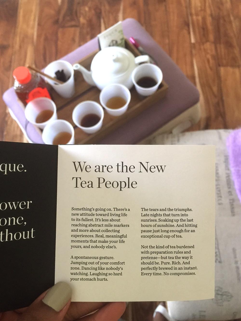 THE SCENT: Organic Tea Sampler | PIQUE - Tea Tasting