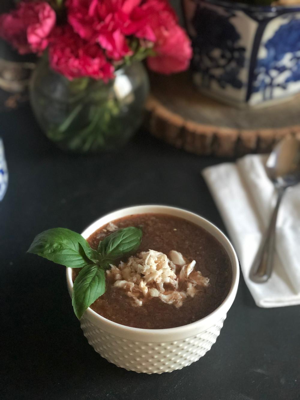 Lapsang Souchong Tea & Parsnip Soup