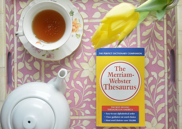 Why Every Blogger Should Have A Thesaurus   Tea Blog   United States