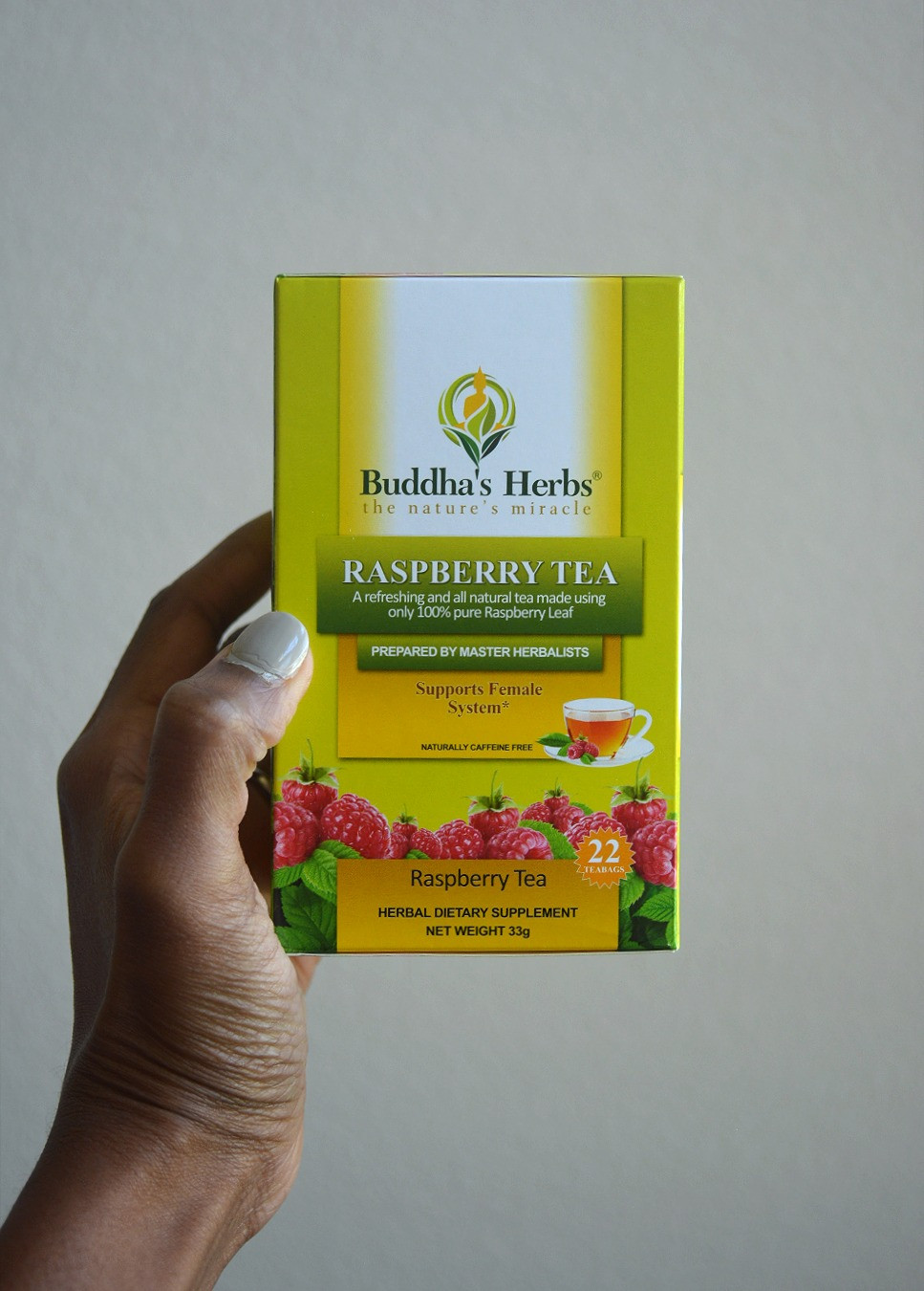 THE EFFECT: Raspberry Tea | Buddha's Herbs