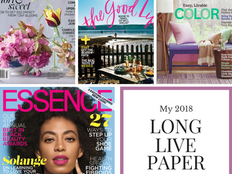 4 New Magazine Subscriptions Because I Couldn't Resist...