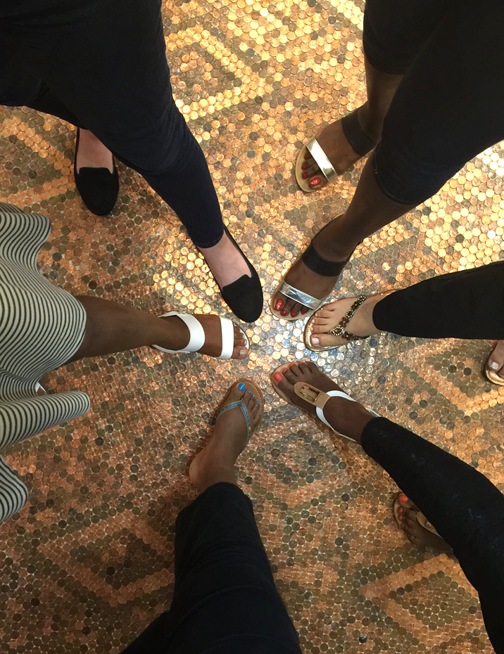Family & Friends Feet Fun!
