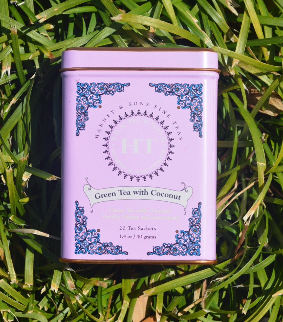 THE TEA TIN: Green Tea with Coconut | Harney & Sons