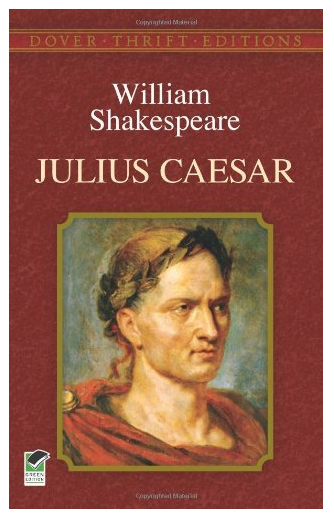Julius Cesar by Shakespeare Dover Edition
