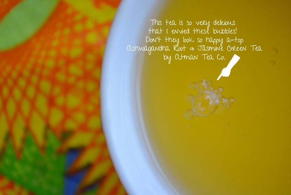 THE EFFECT: Ashwagandha Root & Jasmine Green Tea | Atman Tea Co.
