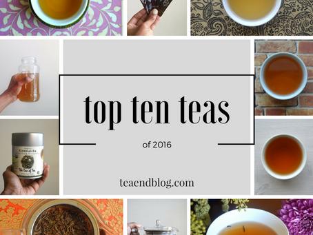 Top Ten Teas of 2016