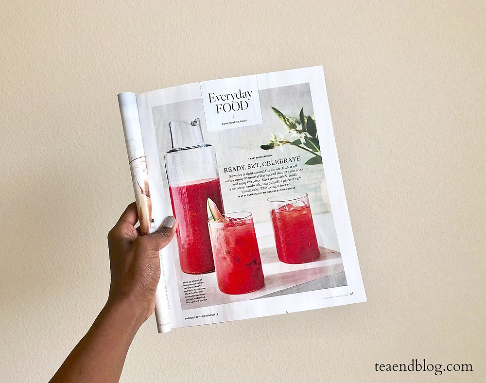 Recipe: Watermelon & Raspberry-Lemonade Tea | Martha Stewart Living Magazine
