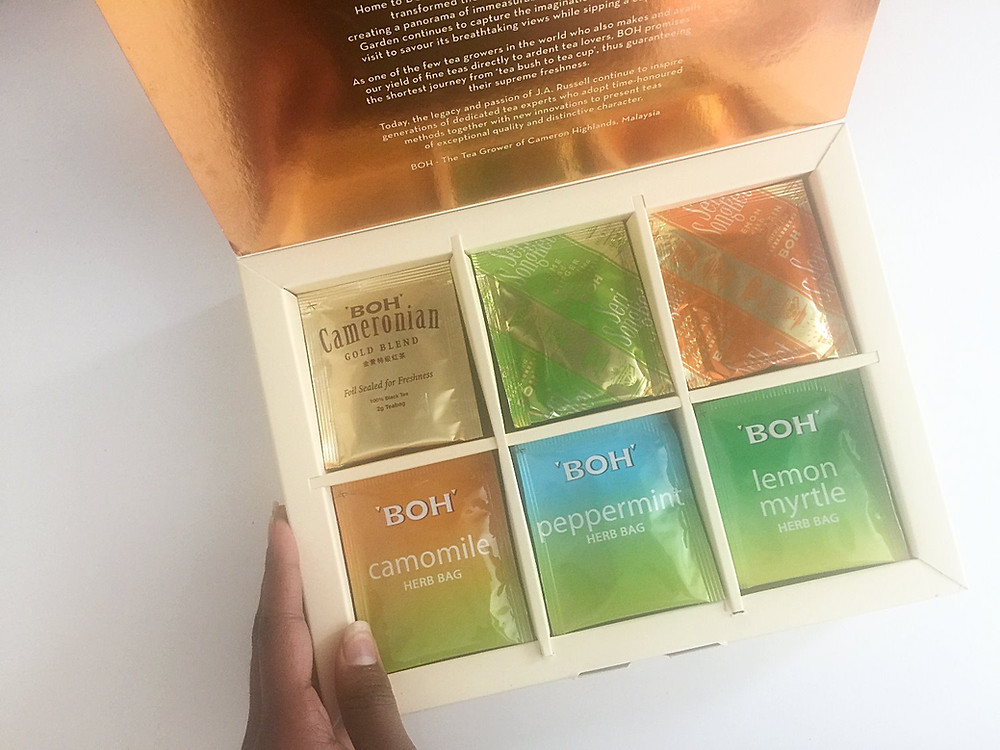 THE HUE: Exquisite Tea Selection | BOH