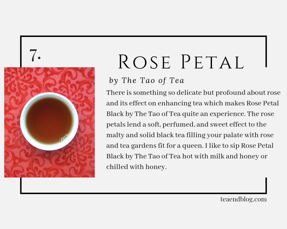 Top Ten Teas of 2019: White Rose by K&G Blended