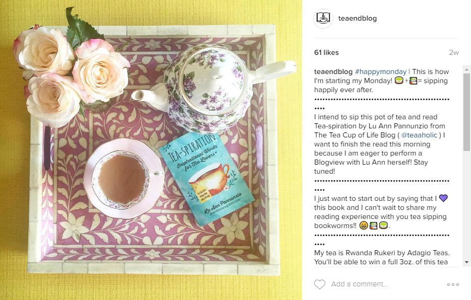 Book Review   Tea-spiration by LuAnn Pannunzio