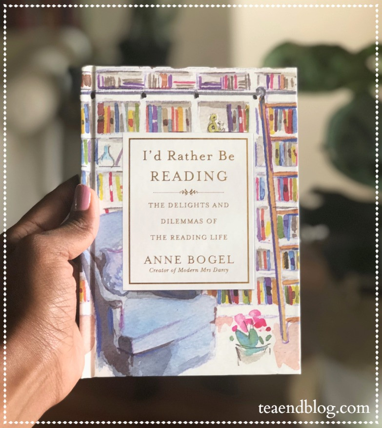 Book Reviews: I'd Rather Be READING by Anne Bogel