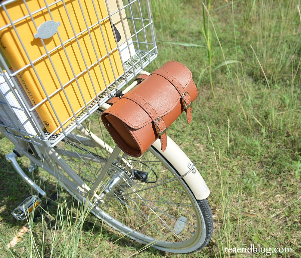 Faux-leather Bike Pouch