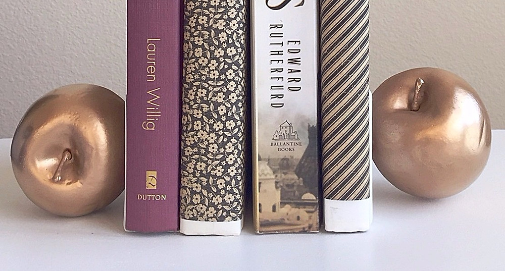 Chic D.I.Y Bookends That Will Make Your Friends Think You Have The Midas Touch