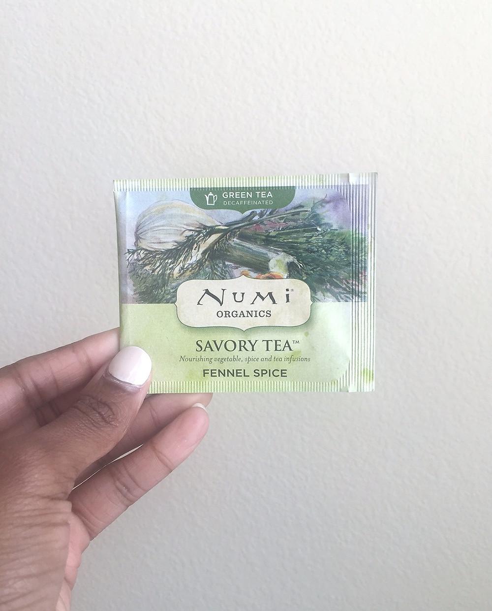 Numi Organics Savory Tea | Fennel Spice