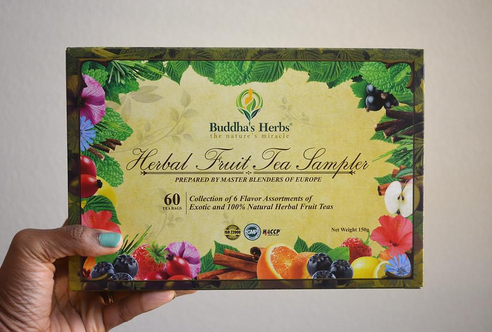 Herbal Fruit Tea Sampler | Buddha's Herbs