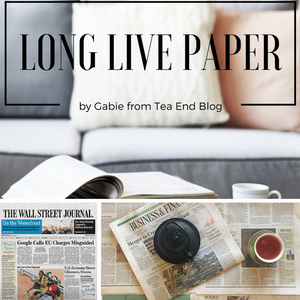 Long Live Paper: Why I'm Happy My Husband And I Do Not Fight Over Books