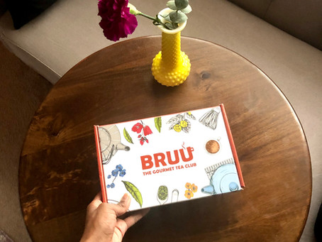 Unboxing: Bruu - The Gourmet Tea Club