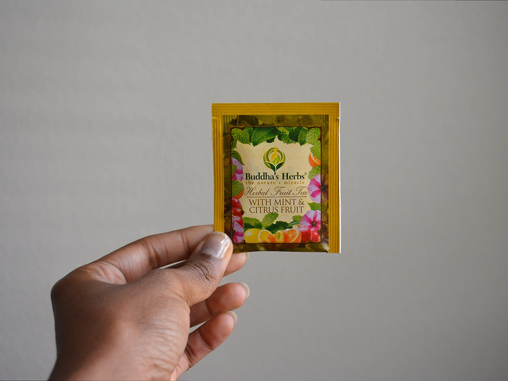 THE SCENT: Mint & Citrus Fruit Tea | Buddha's Herbs