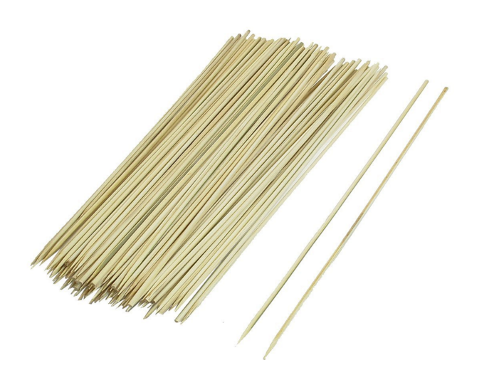 brochettes en bambou