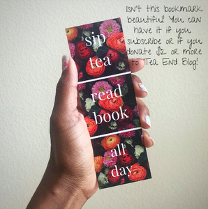 Tea End Blog Bookmark