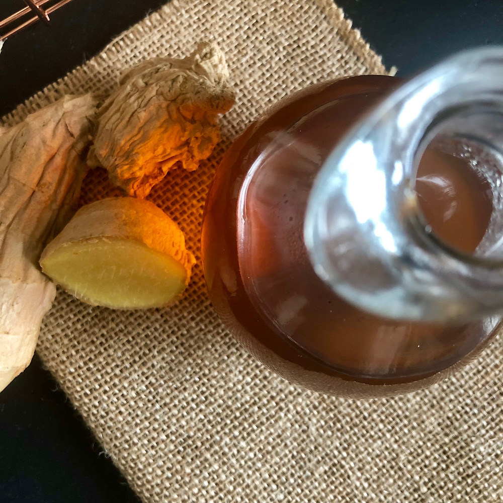 Ginger Oolong Simple Syrup